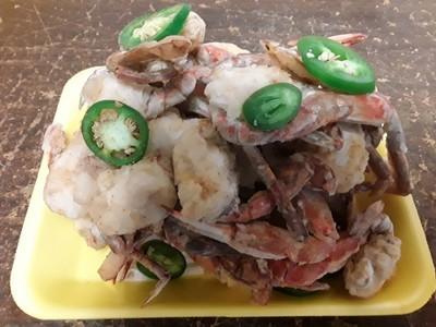 【Welfresh Seafood】椒盐辣螃蟹 1pk>1.5lb (熟食 cooked)(每天上午9点截单)