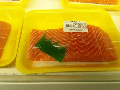 【Welfresh Seafood】Salmon Fillet 三文鱼片 ~1lb(每天上午9点截单)
