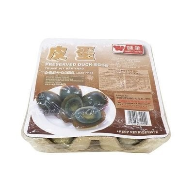【Welfresh Grocery】WEI CHUAN PRESERVED DUCK EGGS 味全皮蛋(每天上午9点截单)