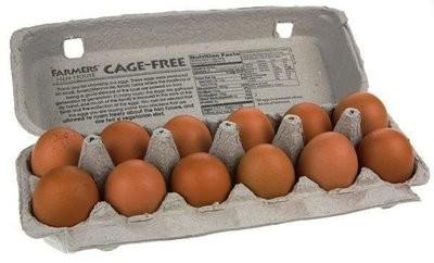 【Welfresh Grocery】GRADE A CAGE FREE BROWN EGGS 大黄鸡蛋(每天上午9点截单)