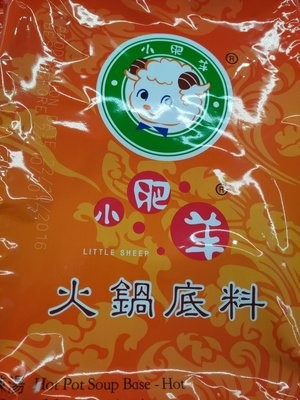 【Welfresh Grocery】LITTLE SHEEP HOT POT SOUP BASE-HOT 小肥羊火锅汤料-辣汤(每天上午9点截单)
