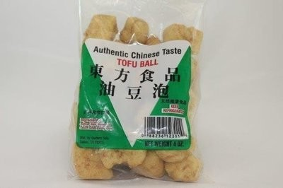 【Welfresh Frozen】EASTERN FRIED TOFU BALL 东方油豆泡, 1 pk(每天上午9点截单)