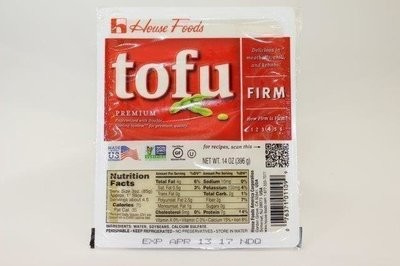 【Welfresh Frozen】HSE TOFU FIRM RED 豆腐, 14 oz/ea(每天上午9点截单)