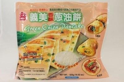 【Welfresh Frozen】I MEI GREEN ONION PANCAKE SERIES 义美香酥葱油饼系列, 525 gm/ea(每天上午9点截单)