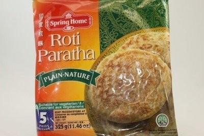 【Welfresh Frozen】SPRING HOME ROTI PARATHA PLAIN 第一家印度煎饼, 11.2 oz/ea(每天上午9点截单)
