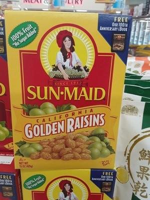 【Welfresh Grocery】GOLDEN RAISNS - SUN MAID(每天上午9点截单)