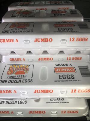 【Welfresh Grocery】JUMBO EGGS-  白鸡蛋(每天上午9点截单)