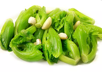 DHHX【东海海鲜】蒜子芥菜 Sauteed Mustard Green