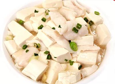 DHHX【东海海鲜】龙利嫩豆腐 Sole Fish Fillet with Tofu