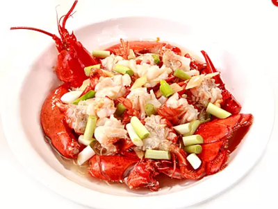 DHHX【东海海鲜】姜葱龙虾面 Sautéed Lobster with Ginger & Scallion Noodles