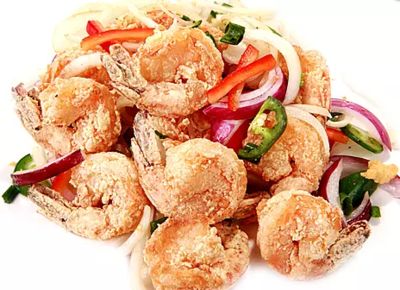 DHHX【东海海鲜】椒盐虾 Salt and Pepper Shrimp