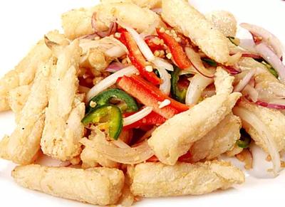 DHHX【东海海鲜】椒盐鱿鱼 Salt and Pepper Squids