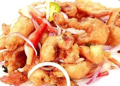 DHHX【东海海鲜】椒盐软壳蟹 Salt and Pepper Soft Shell Crabs
