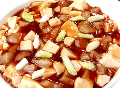 DHHX【东海海鲜】海参鲍鱼嫩豆腐 Sea Cucumber and Abalone with Tofu