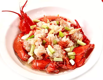 DHHX【东海海鲜】姜葱龙虾面 Sauteed Lobster with Ginger and Scallion Noodle
