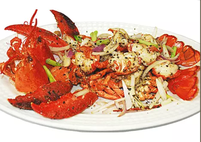 DHHX【东海海鲜】避风塘龙虾 Typhoon Shelters Lobster