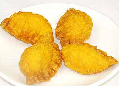 DHHX【东海海鲜】沙律明虾角 Shrimp Puffs with Salad