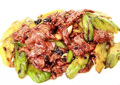 DHHX【东海海鲜】苦瓜牛肉 Beef with Bitter Melon