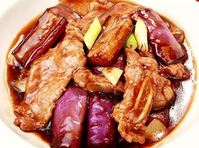 DHHX【东海海鲜】牛仔骨茄子煲 Beef Short Ribs with Eggplant