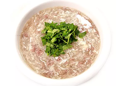 DHHX【东海海鲜】西湖牛肉羹 Minced Beef with Egg White Soup