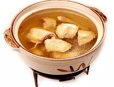 DHHX【东海海鲜】花旗参炖鸡汤