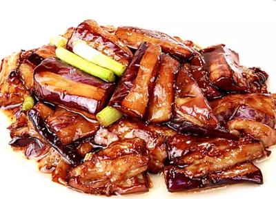 DHHX【东海海鲜】鲍汁茄子 Sauteed Eggplant with Abalone Sauce