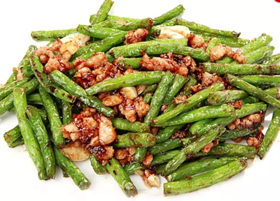 DHHX【东海海鲜】干扁四季豆 Sautéed Green Bean with Minced Pork