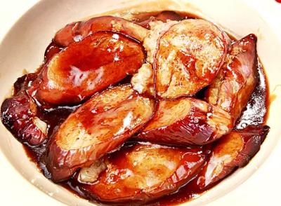 DHHX【东海海鲜】煎酿茄子煲 Fried Stuffed Eggplant