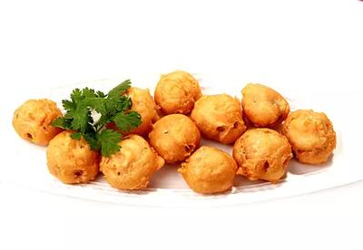 DHHX【东海海鲜】椒盐蘑菇 Salt & Pepper Mushroom