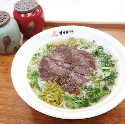 BBJ【棒棒鸡传奇】清汤牛肉米线 Rice Vermicelli Soup with Shredded Beef