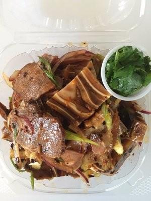 LPJ【凉皮姐】❄凉拌三拼(猪肚,猪耳,牛肉)(Closed Monday)
