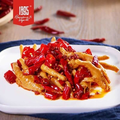 BBJ【棒棒鸡传奇】香辣凤爪 12oz. Spicy Chicken Paws with Sichuan Pepper 12oz