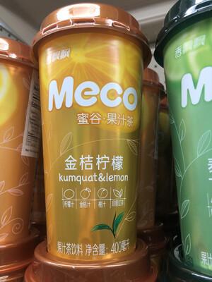 【Welfresh Grocery】Meco 金桔柠檬 400ml(每天上午9点截单)