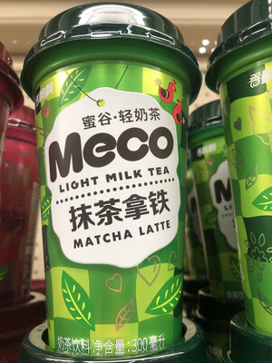 【Welfresh Grocery】Meco 抹茶拿铁 Light Milk Tea Matcha Latte 300ml(每天上午9点截单)