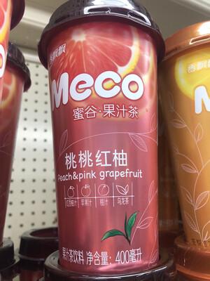 【Welfresh Grocery】Meco 蜜桃红柚 400ml(每天上午9点截单)
