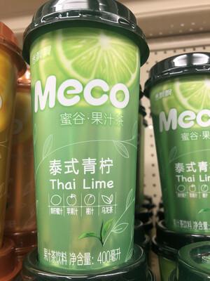 【Welfresh Grocery】Meco 泰式青柠 400ml(每天上午9点截单)