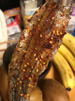 TTLC【天天撸串】棒鱼(一份两个) Amazing Dry Fish (每周三休息)
