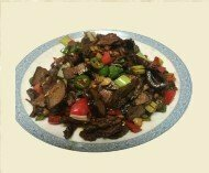 ZWHN【滋味湖南】干烟笋炒腊牛肉 Sauteed Beef with Dried Smoke Sativa