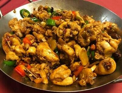 ZWHN【滋味湖南】干锅土鸡 Dried Pot Special Chicken