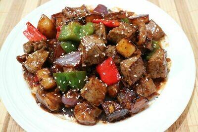 XC【湘厨】黑椒牛肉粒(安格斯牛肉)(周一休息)
