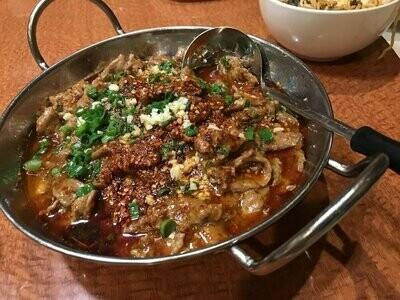 ZWCD【滋味成都】水煮牛肉 Boiled Beef in Hot Sauce (晚餐不配饭)