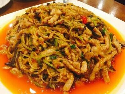 ZWCD【滋味成都】鱼香肉丝 Shredded Pork with Garlic Sauce (晚餐不配饭)