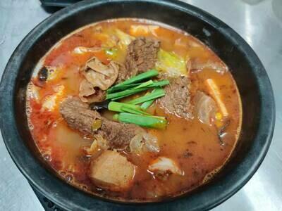 SMD【十秒到】麻辣牛腩米线 Szechuan Mala Spicy Rice Noodle Soup (周一休息)