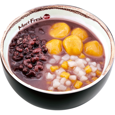 XYX【鲜芋仙】芋薯圆红豆汤 Red Bean Soup w/Mini Taro Ball & Sweet Potato Taro Ball (仅限Houston本地购买)