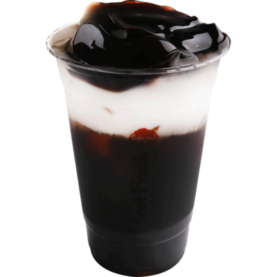 XYX【鲜芋仙】仙草鮮奶凍 Herbal Tea w/Fresh Milk & Grass Jelly (仅限Houston本地购买)
