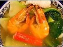 KLM【坤拉面】什锦海鲜拉面/刀削面 Seafood Ramen (每周三休息)