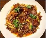 KLM【坤拉面】夫妻肺片 Sliced Beef With Sichuan Style (每周三休息)
