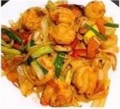 KLM【坤拉面】新疆鲜虾炒面/刀削面 Xingjiang Style Shrimp Ramen (每周三休息)