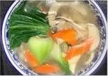 KLM【坤拉面】素菜汤拉面/刀削面 Vegetable Ramen Shaved Noodles (每周三休息)