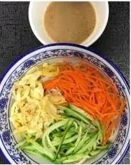 KLM【坤拉面】麻酱凉面/刀削面 Sesame Sauce Cold Ramen (每周三休息)